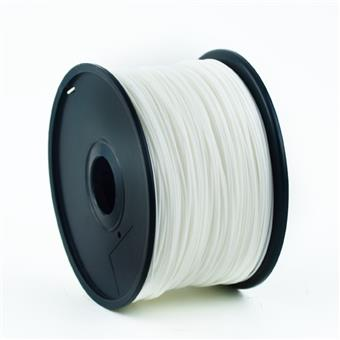 GEMBIRD Struna pro 3D tisk, ABS, 1,75mm, 1kg, 400m, bílá