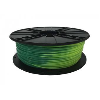GEMBIRD Struna pro 3D tisk, PLA, 1,75mm, 1kg, blue green to yellow green
