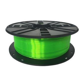 GEMBIRD Struna pro 3D tisk,PETG,1,75mm,1Kg,zelená