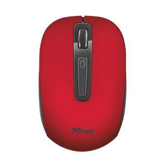 myš TRUST Aera Wireless Mouse - red