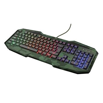 TRUST GXT 830 RW-C Avonn Gaming Keyboard - Camo