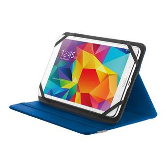 """TRUST Primo Folio Case with Stand for 7-8"""" tablets - blue"""