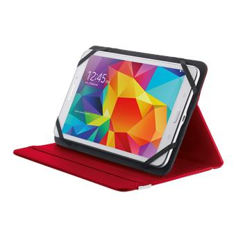 "TRUST Primo Folio Case with Stand for 7-8"" tablets - red"