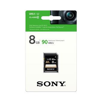 SONY SD karta SF8U, 8GB, class 10, až 90MB/s