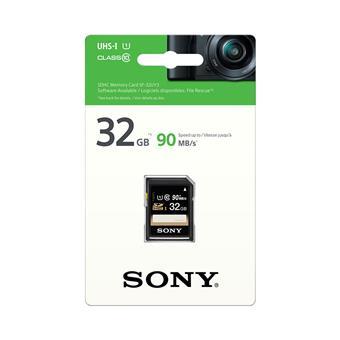 SONY SD karta SF32U, 32GB, class 10, až 90MB/s