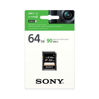 SONY SD karta SF64U, 64GB, class 10, až 90MB/s