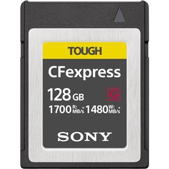 Tough CFexpress - 1700 MB/s (čtení), 1480 MB/s (zápis)
