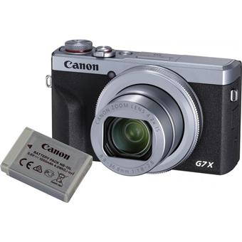 Canon PowerShot G7 X Mark III Silver Battery kit