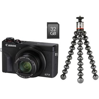 Canon PowerShot G7 X Mark III Black Vlogger kit