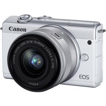 Canon EOS M200 bílý + EF-M15-45mm f/3.5-6.3 IS STM