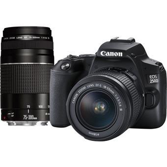 Canon EOS 250D BK 18-55 + 75-300 EU26