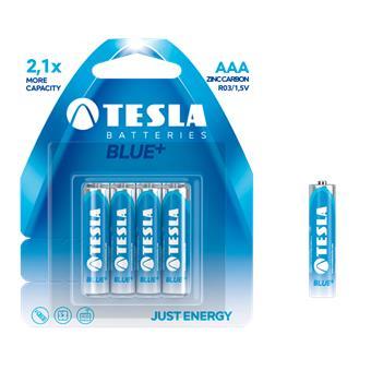 TESLA - baterie AAA BLUE+, 4ks, R03