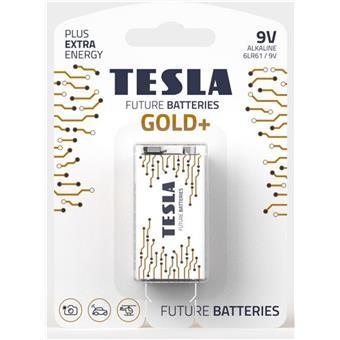 TESLA - bateries 9V GOLD+, 1ks, 6LR61