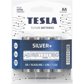 TESLA - baterie AA SILVER+, 4 ks, LR06