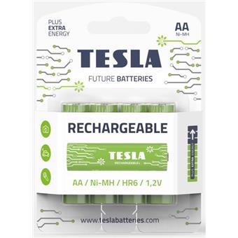 TESLA - nabíjecí baterie AA, 4ks
