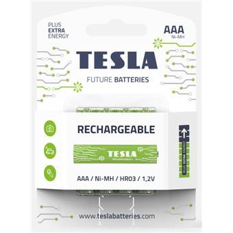 TESLA - nabíjecí baterie AAA, 4ks