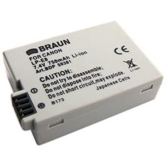 Braun akumulátor CANON LP-E8, 750mAh