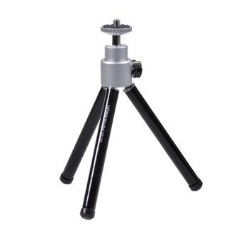 Doerr MB-205 ministativ (15-20,5 cm, 90 g, max.1kg, kulová hlava, černý)