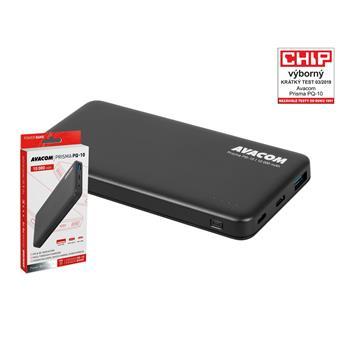 AVACOM externí baterie PRISMA PQ-10, Li-Pol 10000mAh, USB-C PD vstup a výstup