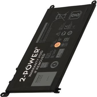 2-POWER Baterie 11,4V 3500mAh pro Dell Inspiron 13 (5368), Latitude 13 3379, Vostro 15 (5568)