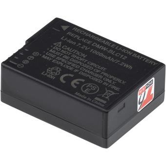 Baterie T6 power Panasonic DMW-BLC12E, BP-DC12, 1000mAh, 7,2Wh, černá