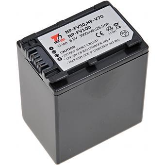 Baterie T6 power Sony NP-FV100, NP-FV70, NP-FV50, 3900mAh, šedá