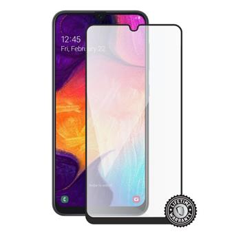 Screenshield SAMSUNG A505 Galaxy A50 Tempered Glass protection (full COVER black)