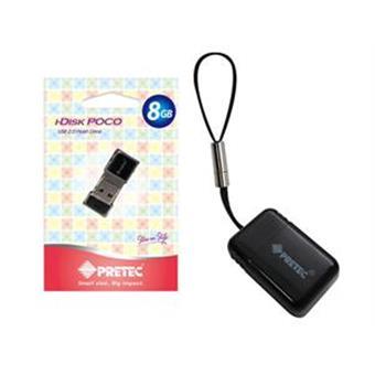 Pretec USB 2.0 i-Disk Poco 8GB - Černý