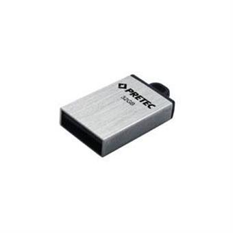 Pretec i-Disk Elite USB 2.0 16GB - stříbrný