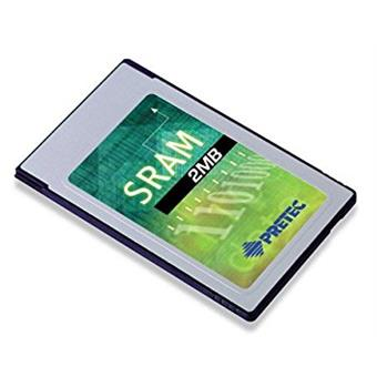 Industry Pretec PCMCIA SRAM Card 2MB MB86187 -20°C - +85°C (with 8KB A/M) 16bit