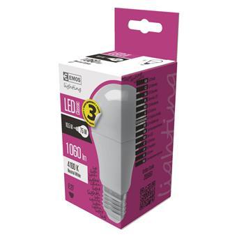EMOS LED ŽÁROVKA CLASSIC A60 10,5W(75W) 1060lm E27 NW