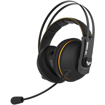 ASUS TUF GAMING H7 WL,Yellow,  wireles gaming headset