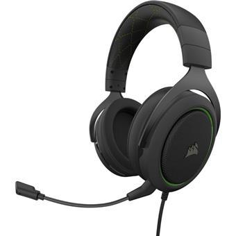CORSAIR herní headset HS50 PRO Stereo Green