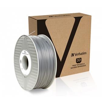 Verbatim PLA struna 1,75 mm, 1kg, stříbrná