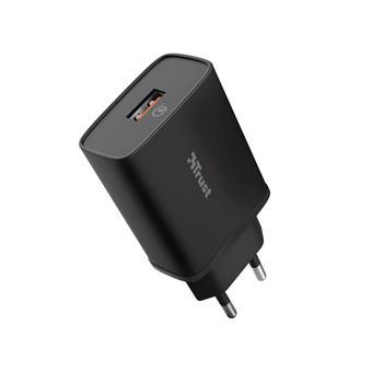 TRUST QMAX USB-A WALL CHARGER QC3 18W