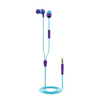 TRUST BUDDI KIDS IN-EAR HEADPHONES PURPLE