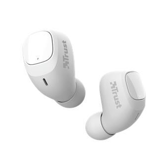 TRUST NIKA COMPACT BLUETH EARPHONES WHITE