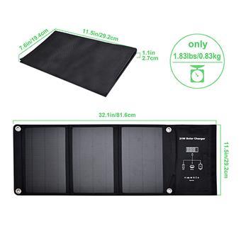 Solární panel VIKING 21W