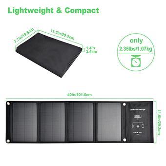Solární panel Viking 28W