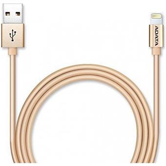 ADATA Lightning kabel MFi kovově zlatý