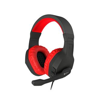 Herní stereo sluchátka Genesis Argon 200,černo-červené
