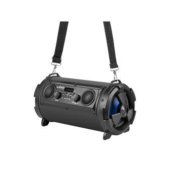Bluetooth reproduktor UGO Bazooka 16W, 2.1, karaoke, mikrofon, FM rádio, MP3, AUX, micro SD a USB