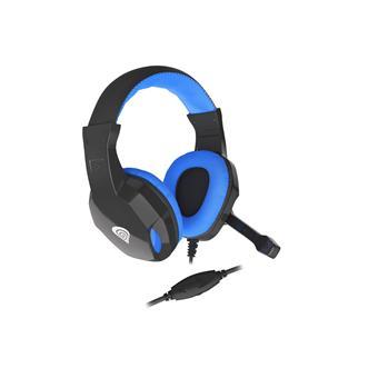 Herní stereo sluchátka Genesis Argon 100, černo-modré, 1x jack 4-pin