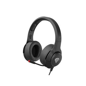 Multiplatformní stereo sluchátka Genesis Argon 600, černá, 50mm měniče