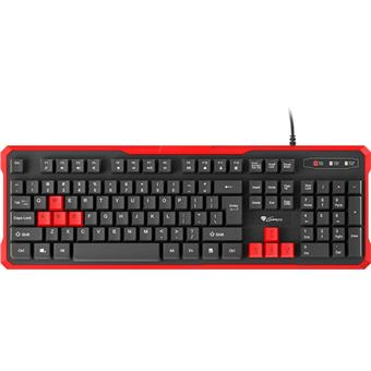Genesis herní klávesnice RHOD 110 CZ/SK layout