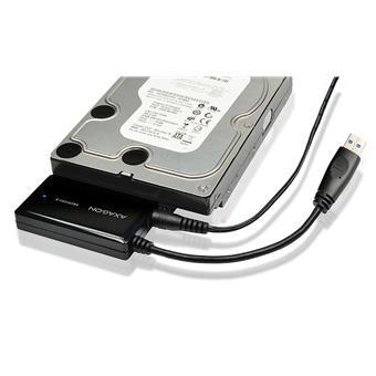 AXAGON ADSA-FP3, USB3.0 - SATA 6G HDD FASTport3 adaptér, vč. napáječe