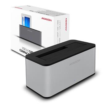 AXAGON ADSA-SM USB3.0 - SATA 6G COMPACT HDD dock SILVER