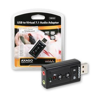 AXAGO USB2.0 - virtual 7.1 audio adapter