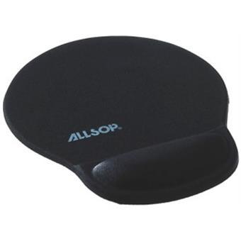Allsop Gelová podložka pod myš černá, 30mm podpora zápěstí