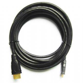 Kabel HDMI-HDMI mini 1,8m zlac.kon. stin 1.4,černý